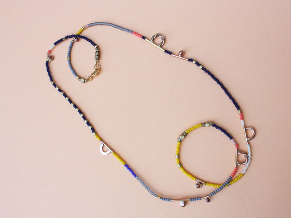 Blank Verse - Bead Long Dione Necklace