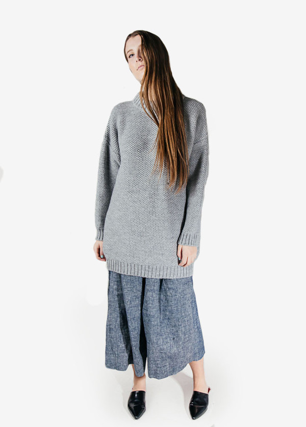 Suzanne Rae - Honeycomb Oversized Sweater