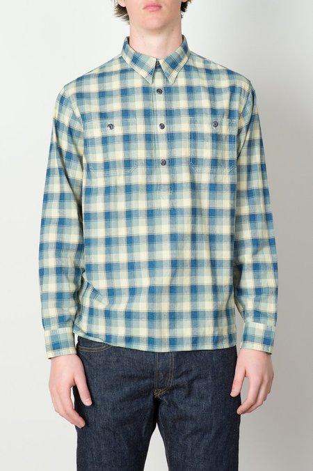 Men's Plaid Cotton Dobby Shirt
