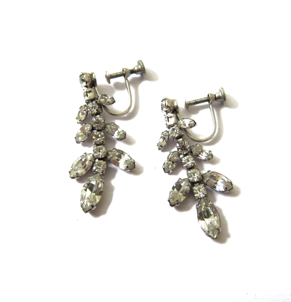 rhinestone screw backs