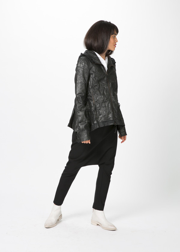 Rundholz Dip Hooded Crackle Jacket