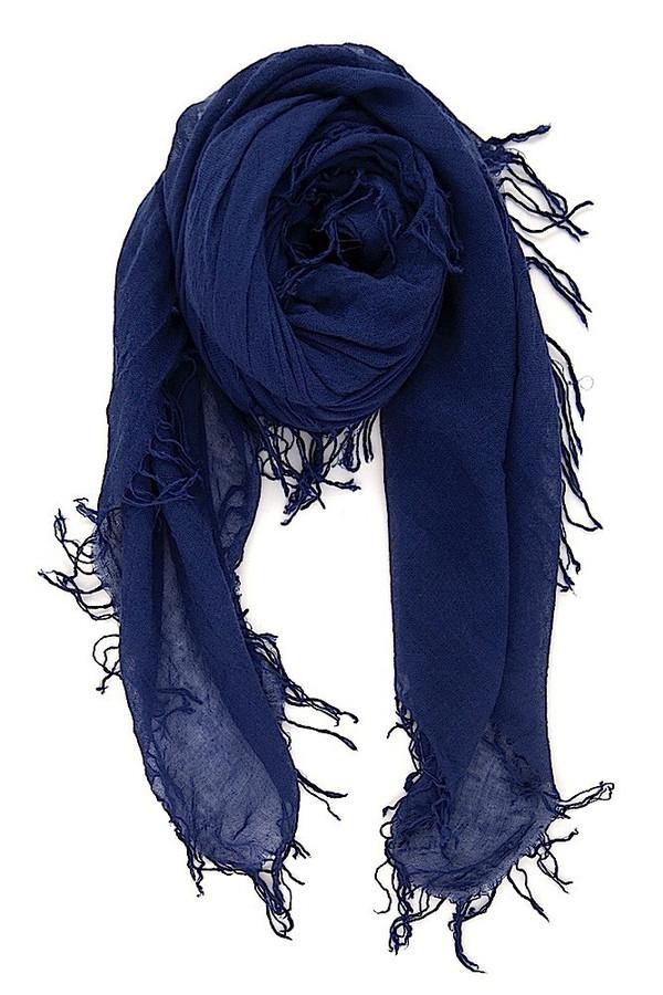 Chan Luu - Medieval Blue Cashmere & Silk Scarf