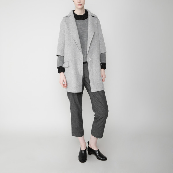 7115 by Szeki Mid-Sleeves Wool Jacket FW16