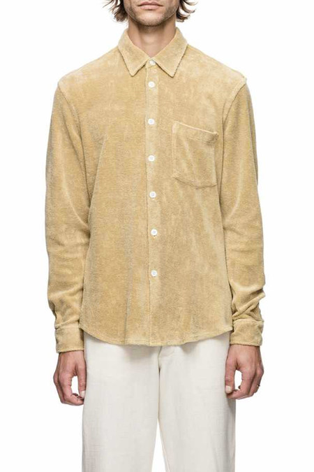 Men's Our Legacy Terry Shirt | Yolk