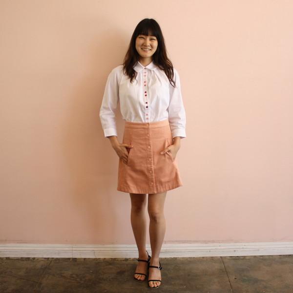 Rachel Antonoff Sandra oversize top - funfetti