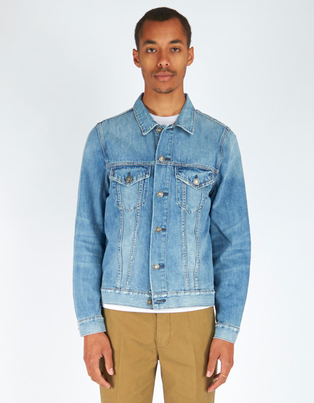 Men's Neuw Denim Jacket Beaten
