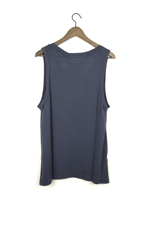 Skargorn #21 Sleeveless Tee, Indigo Wash