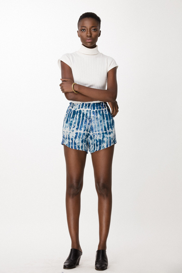 Osei-Duro Dash Shorts in Marine Chalk