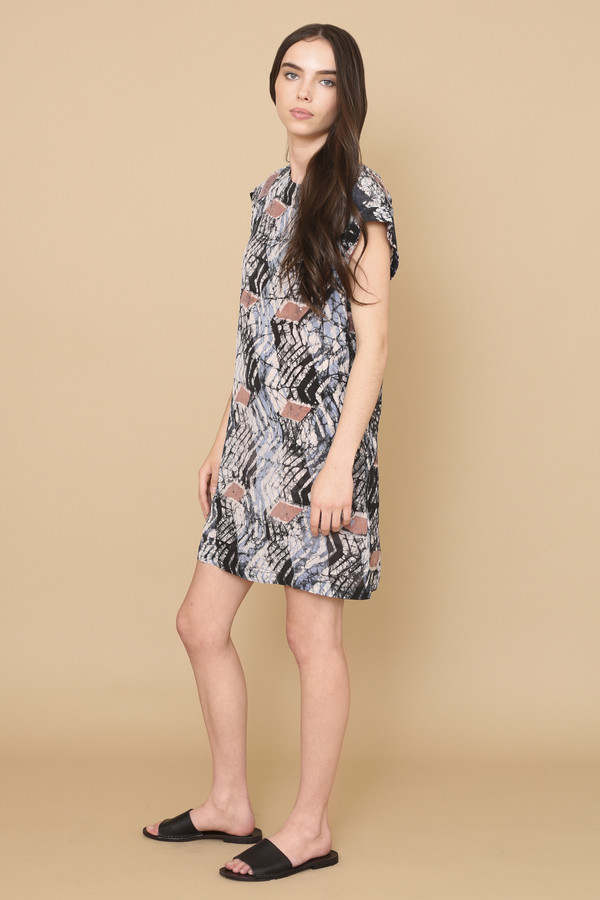 Osei-Duro Deni Raglan Dress in Dulse