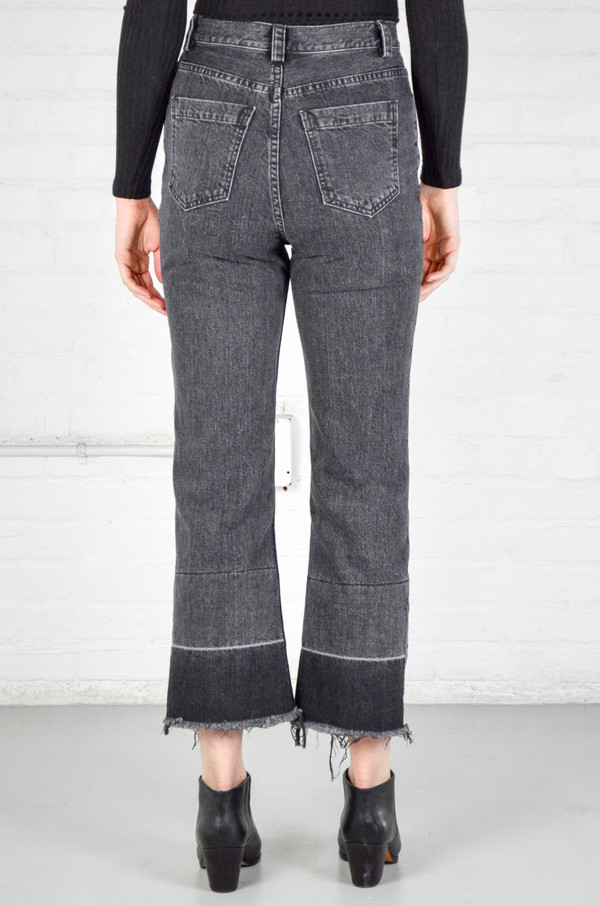 Rachel Comey Washed Black Slim Legion Pant