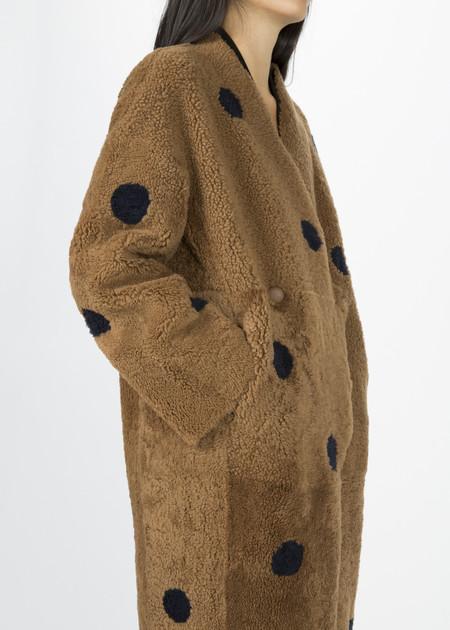 Anne Vest Akita Reversible Shearling Coat