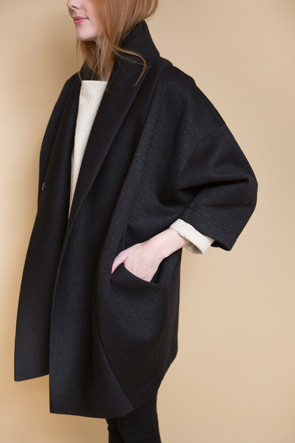 Reality Studio Xiong Coat - Black