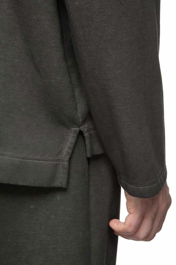 Men's Our Legacy Box Scuba Long Sleeve I Black
