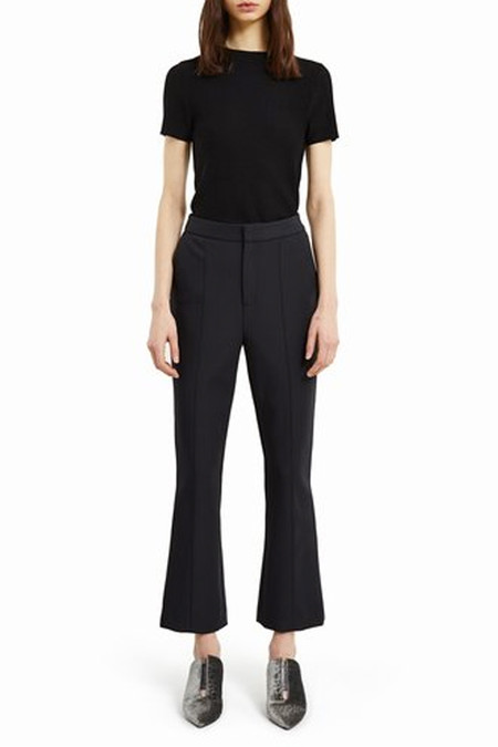 Opening Ceremony William Flare Cropped Pant | Black