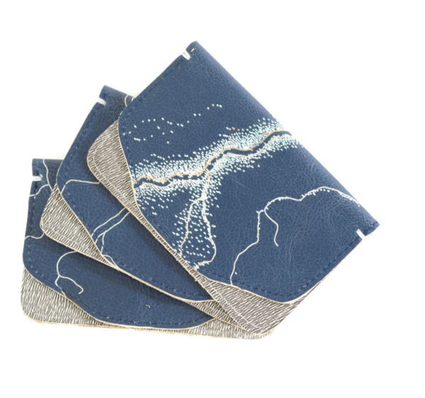 Shana Luther - Blue Mini Wallet