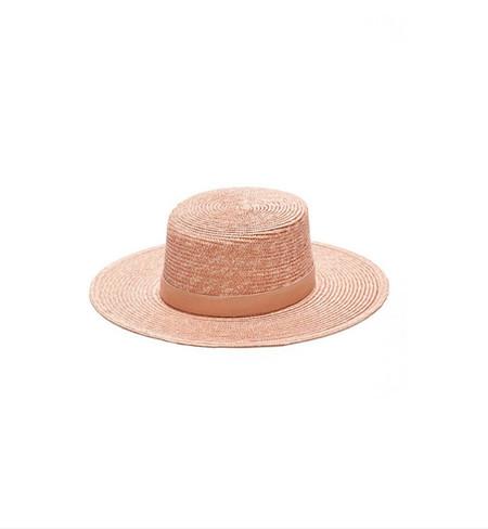 Janessa Leone Pink Calla Bolero Hat