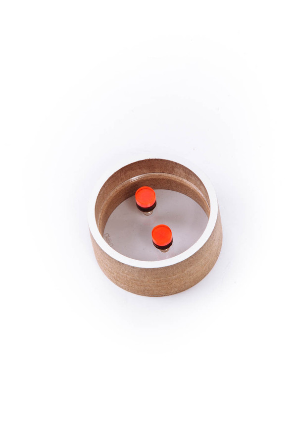 OkiikO Asorti Stud Earrings (Small Red Dots)