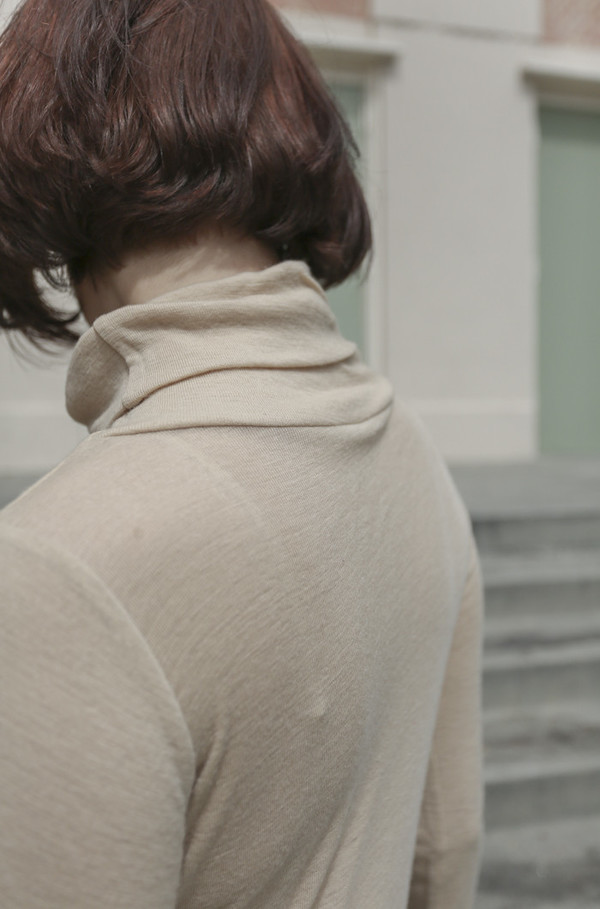 Baserange Tripoli Turtleneck in Carl Johan Nude