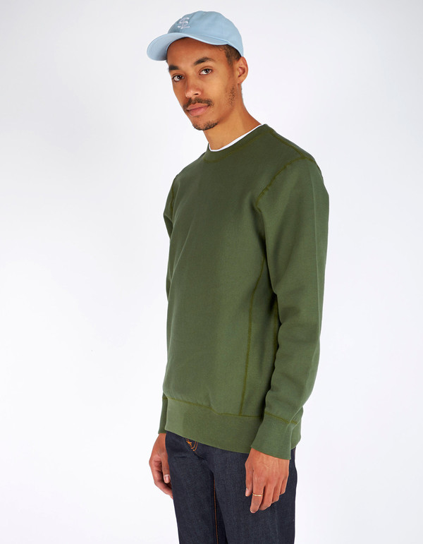 Men's Still Life Crewneck Sweatshirt Olive