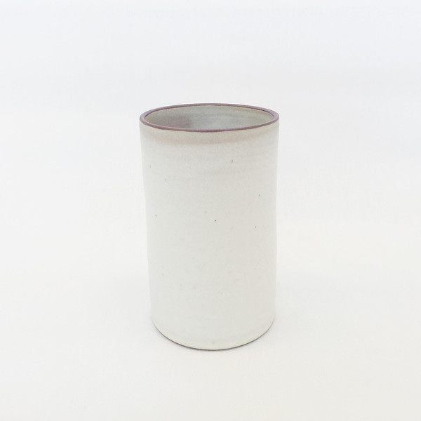 Alexandria Cummings Medium Ivory Vase