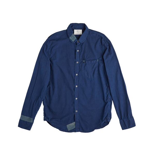 Olderbrother Hand Me Down - Classic Oxford Shirt - Dark Indigo