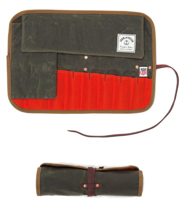 Iron and Resin Tool Roll