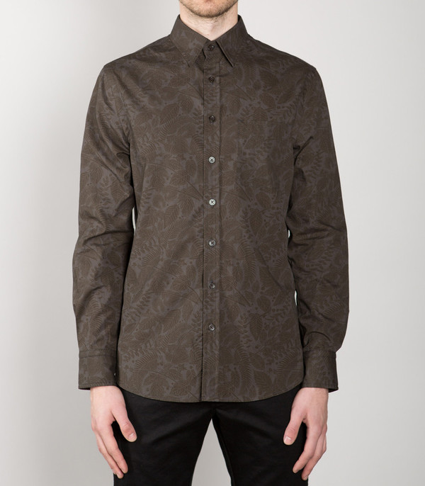 Men's WINGS + HORNS - Foliage Print Shirt