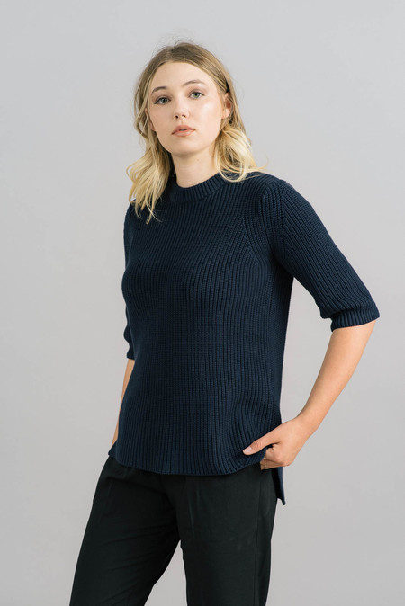 Just Female Ashley Knit Blouse
