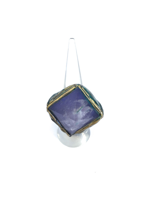 Adina Mills Pyra Lilac Ring