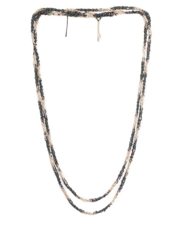 Arielle De Pinto Dalmation Simple Necklace in Silver