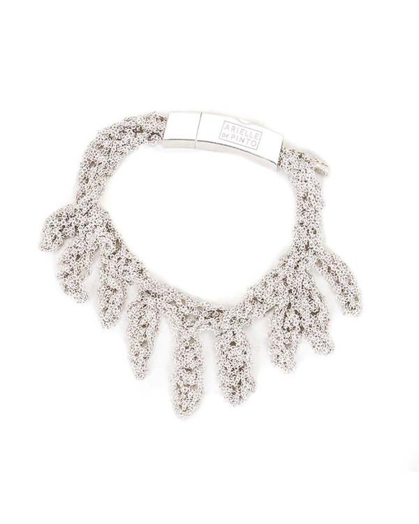 Arielle De Pinto Laurel Bracelet in Sterling Silver