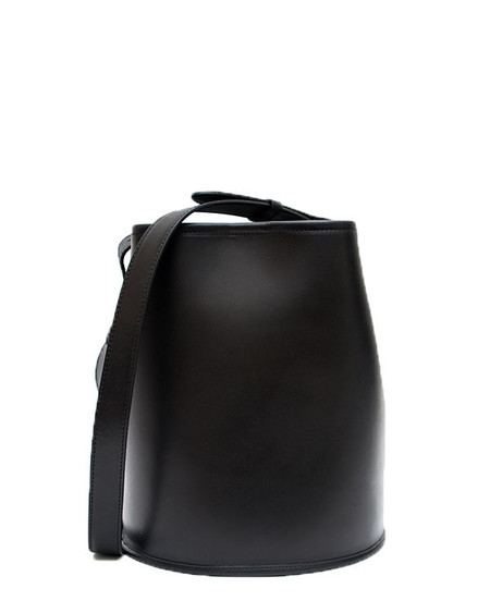 Creatures of Comfort Small Bucket Bag in Black