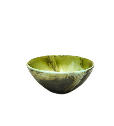 Dinosaur Designs Small Ball Bowl in Malachite