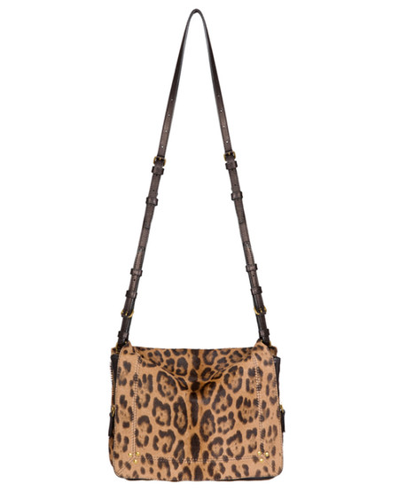Jerome Dreyfuss Igor Crossbody Bag in Leopard Sauvage