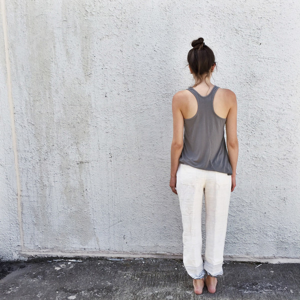 LemLem Biftu Lounge Pants in Grey