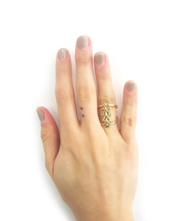 Pamela Love Ursa Minor Ring in Antique Gold