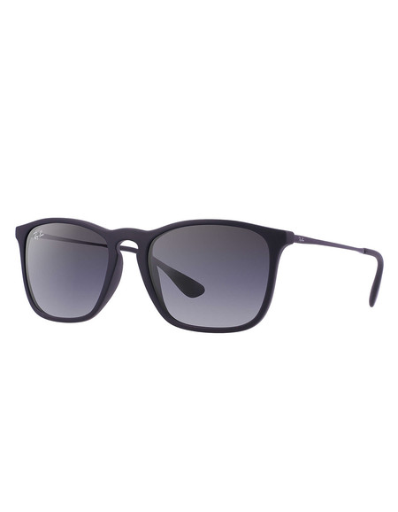 Ray-Ban Chris Sunglasses Black Rubber