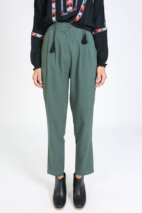 First Rite Narrow trouser in Jade