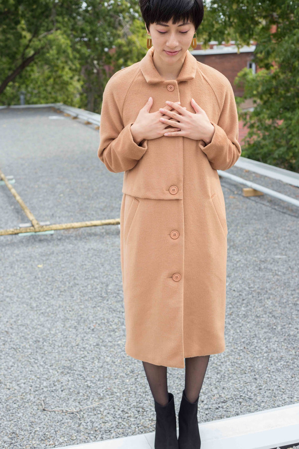 Valérie Dumaine Valerie Dumaine Kenneth Coat (Camel)