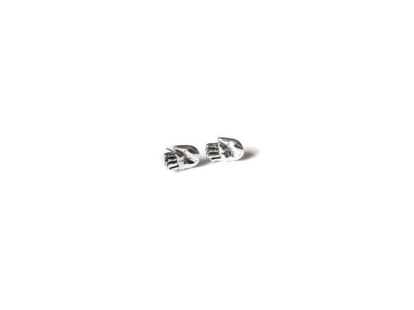 Elaine Ho - Talisman Tiny Hand Earrings