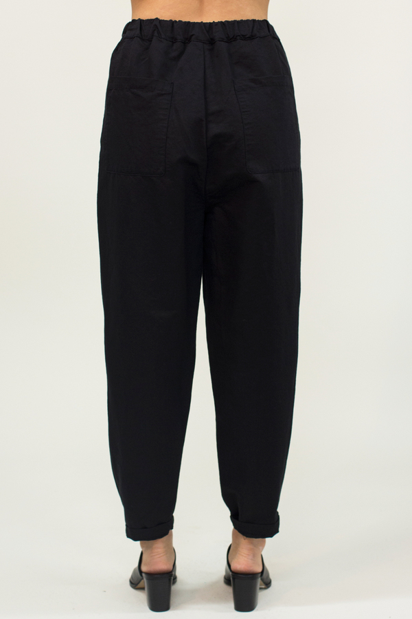 Universal Tissu Wrap Pants- Black