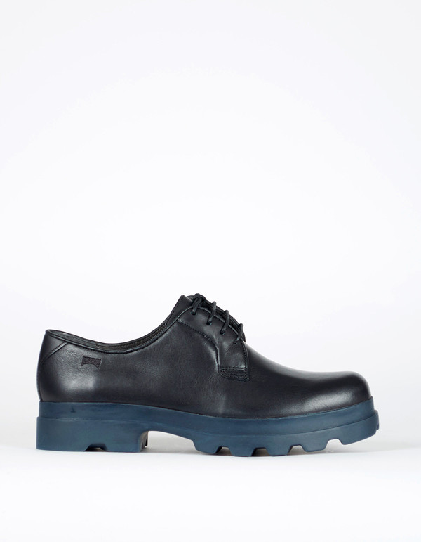 Camper Mil Platform Oxford Black Blue