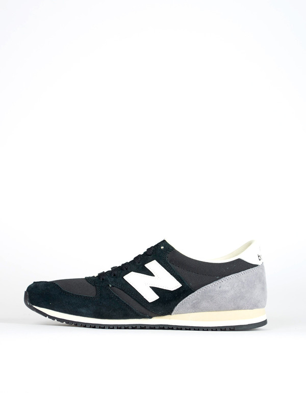 Men's New Balance 420 Heritage 70s Collection Sneaker Black Grey