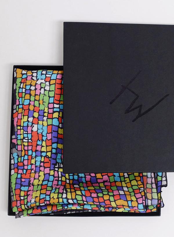 Marlene Huissoud Pixel Scarf