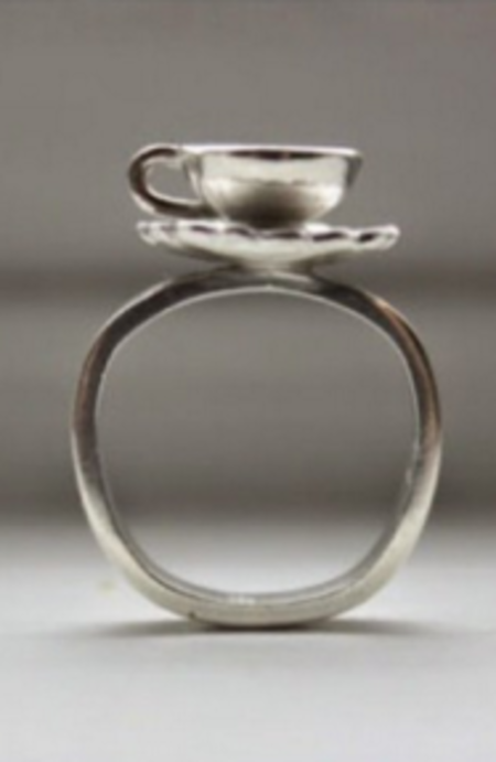 Sarah A. Sears Teacup Ring