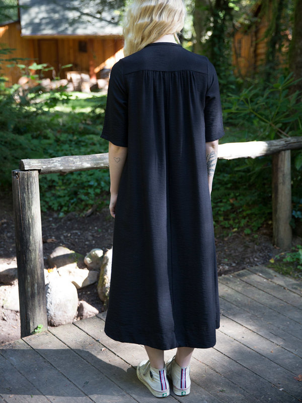 Sunja Link Gathered Back Yoke Dress