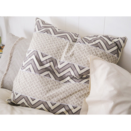 Erica Tanov patchwork euro throw pillow