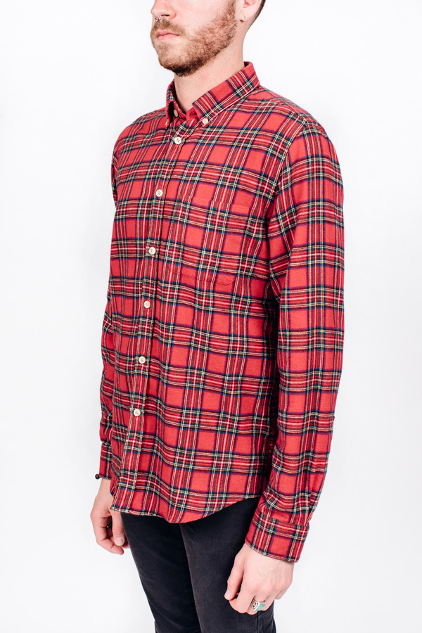 Men's Portuguese Flannel Molhe Flannel Shirt
