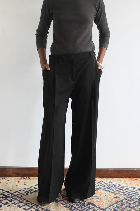 SomeLikeUs Vintage Linen Piazza Sempione Wide Leg Pants