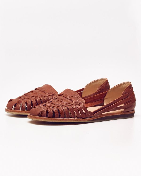 Nisolo Ecuador Huarache Sandal Burnt Sienna - What's It Worth